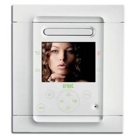 URMET Monitor FOLIO for 2VOICE. Color white 1706/6