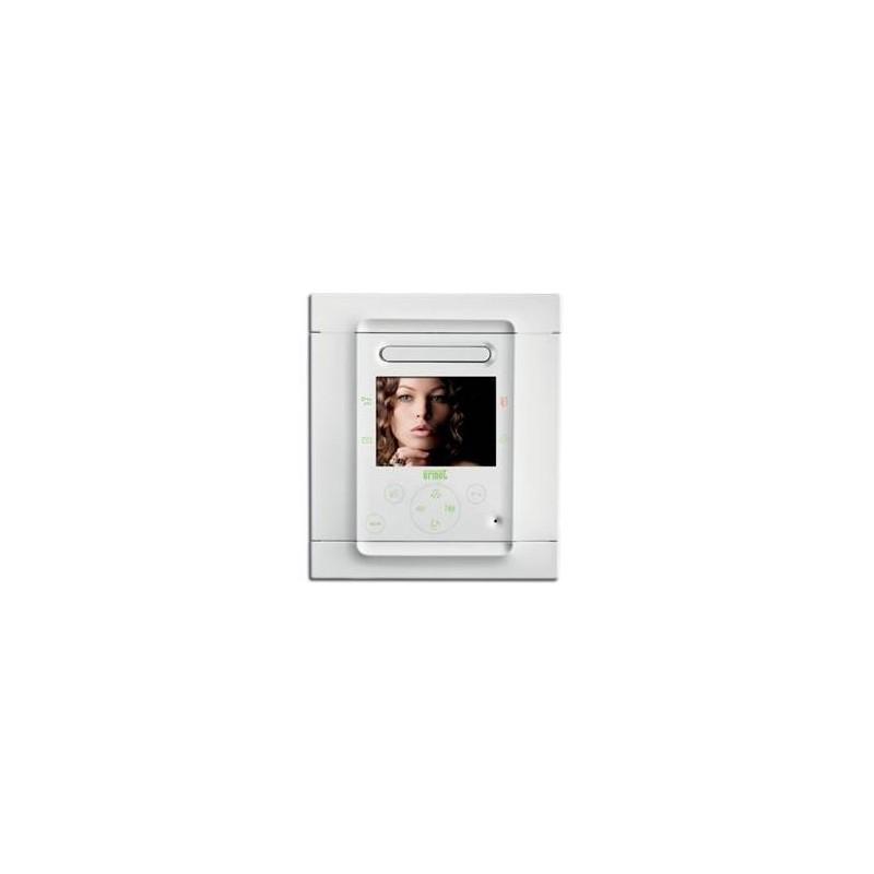URMET Monitor FOLIO per 2VOICE. Colore bianco 1706/6