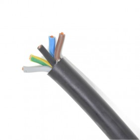 Cable Guainato of polychloroprene 5X1,5 sq mm H07RNF5G1,5