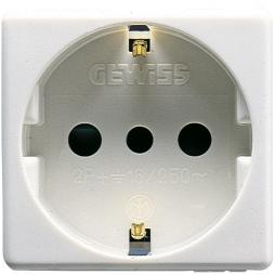 GEWISS-SYSTEM SCHUKO-STECKDOSE 16A GW20205