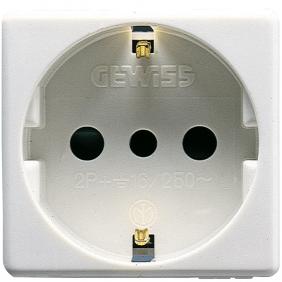 GEWISS SYSTEM SCHUKO SOCKET 16A GW20205