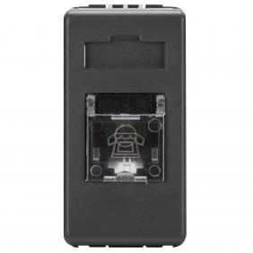 Gewiss System telephone socket GW21251