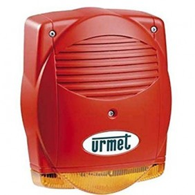URMET fire Siren self-powered 24 Vdc. 1043/256