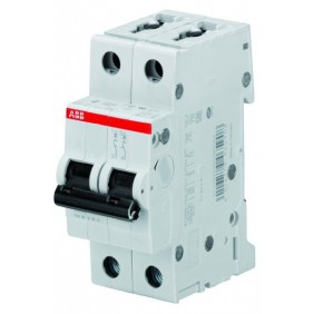 Circuit breaker-ABB 2P 20A 6 KA B20 curve B S467001
