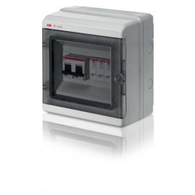 Cadena de Cuadros Abb Europa 8 módulos de grey 1 cadena de 10A 800V IP65 1SL0603A00