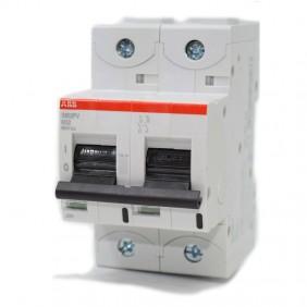 Sezionatore Abb 2 poli 32A 800 VCC S802PV 3Moduli M121123