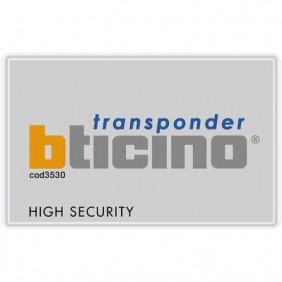 Transponder badge portatile Bticino per antifurto e Automazione 3530S