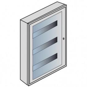 Quadro da parete Bticino con portello in cristallo 36 moduli E109C/36D
