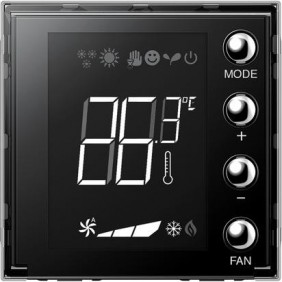 Bticino Axolute built-in thermostat with...