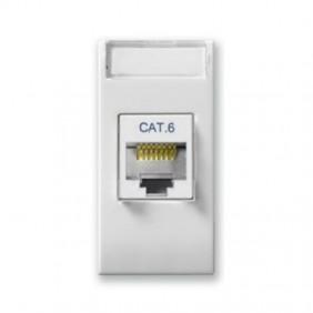 Socket Network LAN Ave Domus System 44 RJ45 cat6 UTP 441027C6