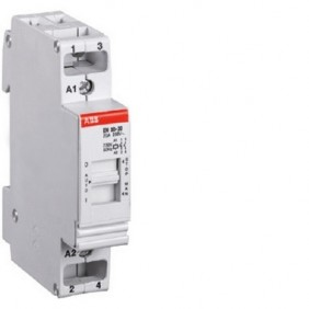 Contattore modulare Abb EN comando 0 - 1 frontale EL 820 7