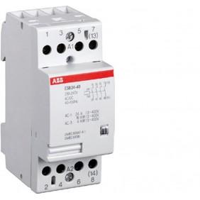 Contattore modulare Abb 3 moduli ESB 24-40 230V AC/DC EL 888 4