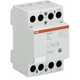 Contattore modulare Abb 3 moduli ESB 40-40 230V AC/DC EL 893 4