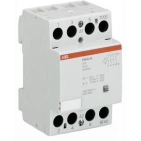 Contattore modulare Abb 3 moduli ESB 63-40 230V AC/DC EL 898 3