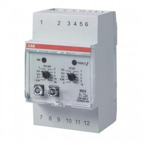 Relè differenziale Abb RD3 modulare elettronico  J427348