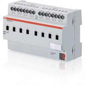 Terminal de salida de ABB 8 canales 6A comando manual de composición KNXF0023