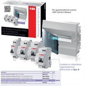Kit Switchboard ABB for the plant, residential K648L10755