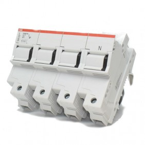 Sezionatore portafusibile ABB 3p+N 125A E93N/125 M296532