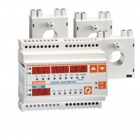 Kit Multimetro Lovato DMG100 + 3 trasformatori 100/5A DMGKIT100100