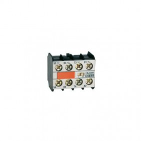 Auxiliary contact Lovato 2NO+2NC for contactors series BF 11BGX1022