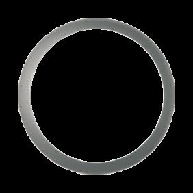 Maschera tonda Goccia anello per serie Jack (2201-2201) grigia 2213SI
