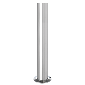 Stake Drop stainless steel 375mm AISI 316L Polished THE I-LUX series 3511GR