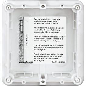 Flush mounting box Bticino Sfera 1 Module 350010