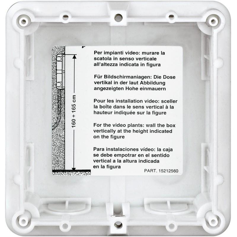 BTICINO BOX BUILT-IN, 1 MODULE SFERA 350010