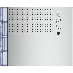 BTICINO Frontale modulo fonico evoluto finitura Allmetal 351101