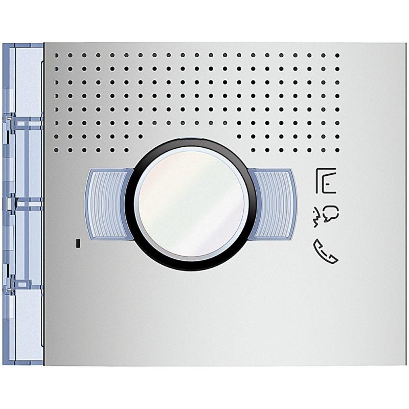 BTICINO Frontale A/V standard finitura Allmetal 351201