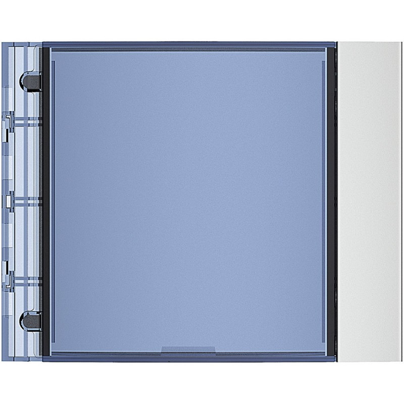 BTICINO Frontale targa finitura Allmetal 352201