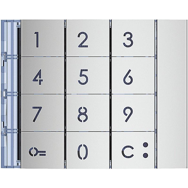 BTICINO Frontale tastiera finitura Allmetal 353001