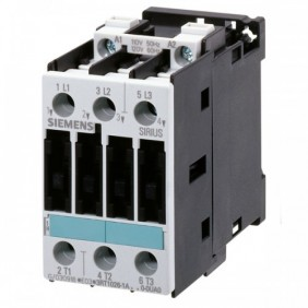 Contactor Siemens 3-Pole 40A S2 S/C. AUX 24VAC 3RT10351AB00