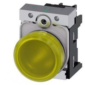 Indicator Siemens bright yellow LED 230V 22mm 3SU11566AA301AA0