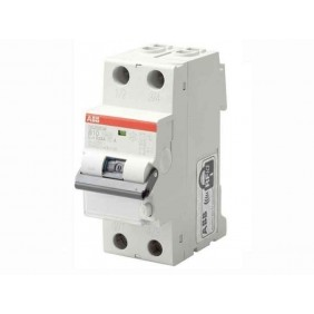 Switch ABB residual current circuit Breaker 1P+N 32A 30mA Type A, 6 ka 2 Modules
