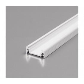 Profilo per LED Ledco da 2 metri bianco 10 mm da accessoriare PR100/BI
