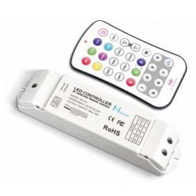The control unit Ledco LED RGB RF remote control pro2 24/12 Vdc CT300