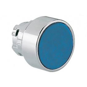 Pulsante rasato LOVATO ad impulso serie 8LM foro 22mm blu 8LM2TB106