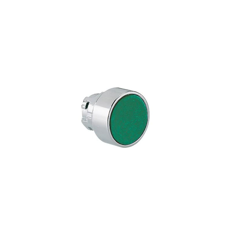 Pulsante sporgente LOVATO impulso serie 8LM foro 22mm verde 8LM2TB203