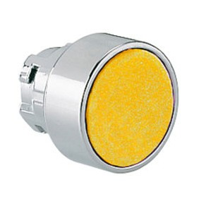 Flush push button LOVATO impulse series 8LM hole 22mm yellow 8LM2TB105