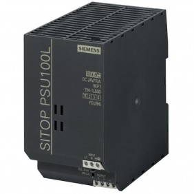 Alimentatore Siemens switching SITOP PSU100L 1F/24DC 10A 6EP13341LB00