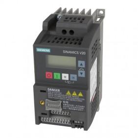 Convertitore di frequenza Siemens SINAMICS V20 0,75KW 6SL32105BB175BV1