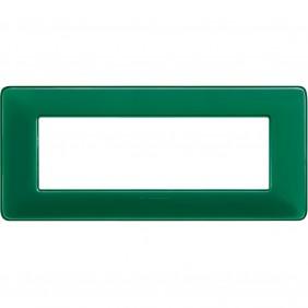 Placca Bticino Matix 6 moduli smeraldo AM4806CVS