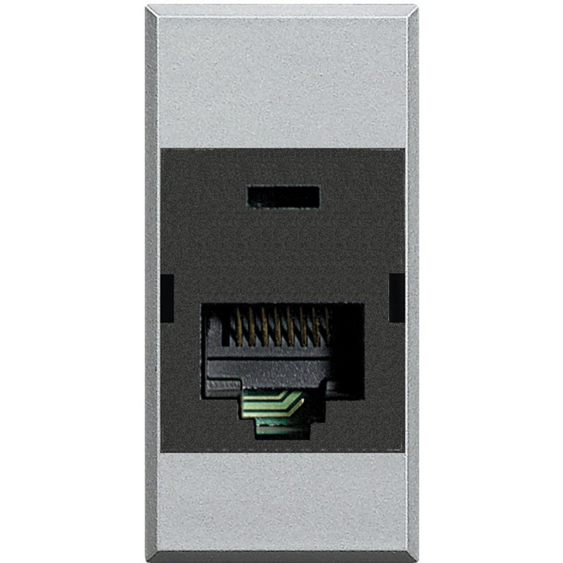 BTICINO AXOLUTE RJ45 SOCKET, CATEGORY 6 UTP