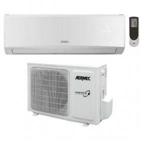 Air conditioning Aermec 2.7 KW 9000 Btu inverter A++ Gas R32 SLG250W