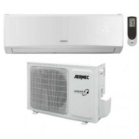 Climatizzatore Aermec 2,7 KW 9000 Btu inverter A++ Gas R32 SLG250W