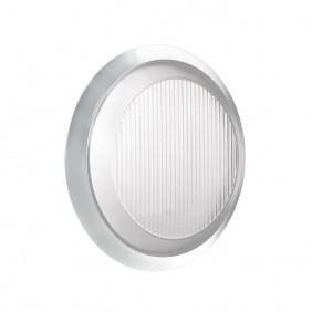 Ceiling light round Lombardo EXCEL FLAT WHITE 2X9W IP54 LB27141