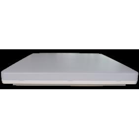 Plafoniera Novalux Luna quadra bianca LED 19W 3000K IP44 104305.01