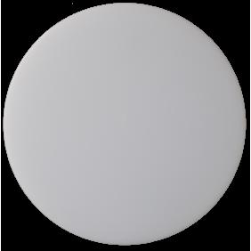 Plafoniera Novalux Luna tonda bianca diametro 400 LED 36W 3000K 104303.01