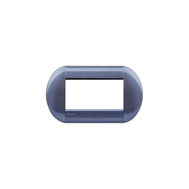 BTICINO LIVINGLIGHT PLACCA TONDA 4 MODULI LNB4804GP
